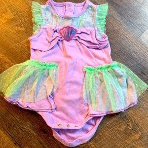 Little Mermaid Baby Onesie Disney Princess Dress